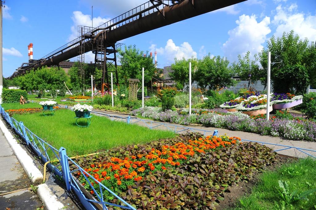 Как сообщает пресс-служба ЧМК, конкурс «Цветущий комбинат» проходит на комбинате уже на протяжени
