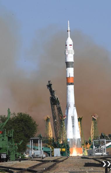 Сегодня, 22 августа, со стартового комплекса космодрома Байконур успешно стартовала ракета-носите