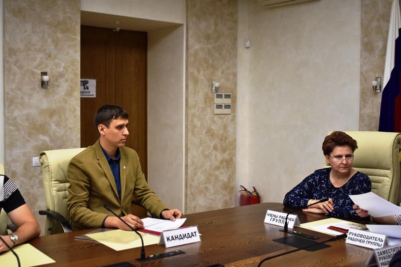 Участник конкурса «Лидеры России» Андрей Аюпов выдвинул свою кандидатуру на долж