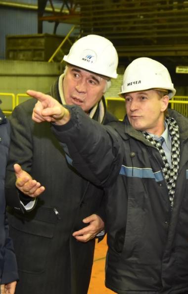 Челябинский металлургический комбинат (ПАО «ЧМК», входит в Группу «Мечел») с экскурсией посетил з