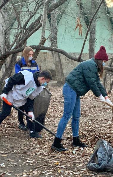 Общественная экологическая организация «Зеленый город» при поддержке Челябинского металлургическо