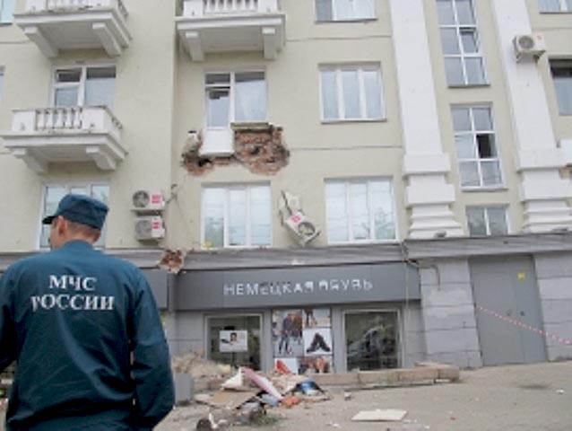 Прокуратура Центрального района Челябинска после информации в СМИ об обрушении балкона провела св