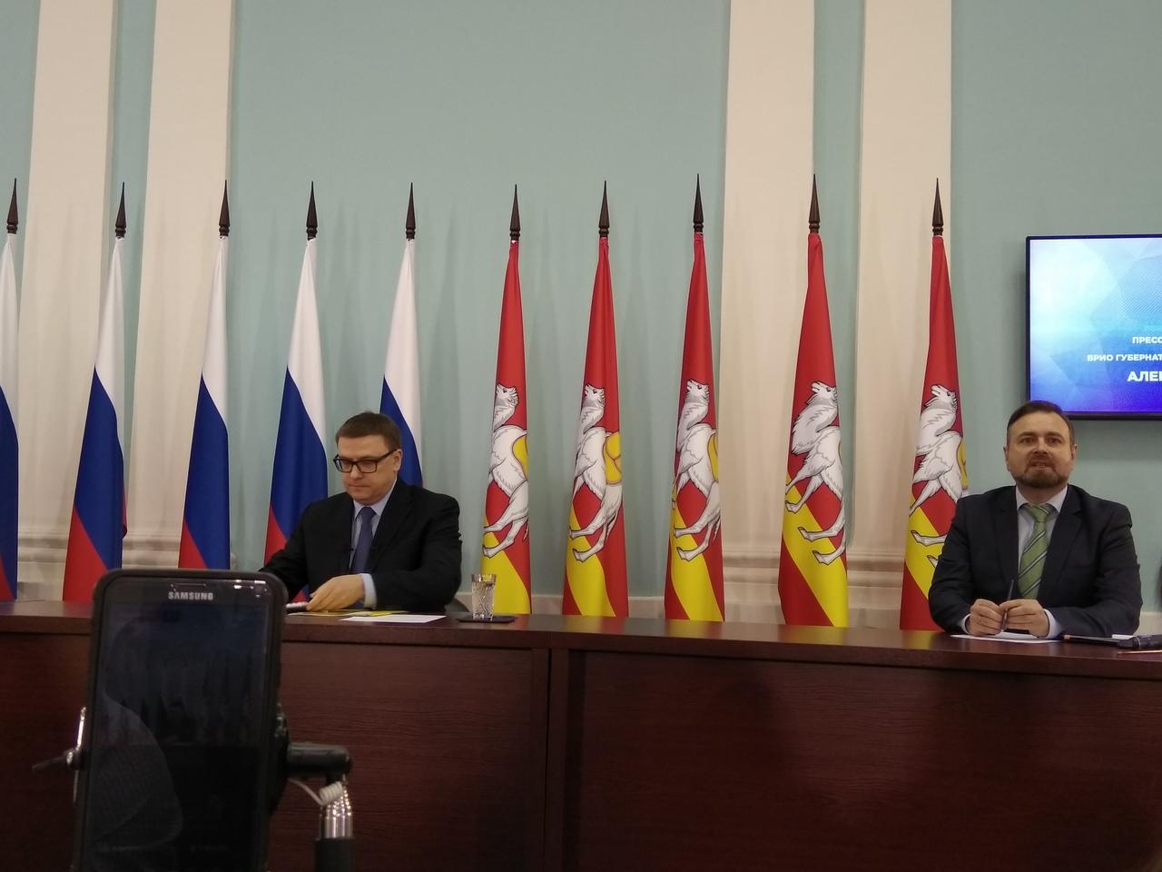 Первая пресс-конференция временно исполняющего обязанности губернатора Челябинской области