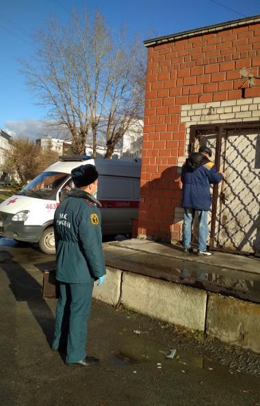 После взрыва кислородной станции в ГКБ №2 Челябинска, специалисты управления пожарного надзора го