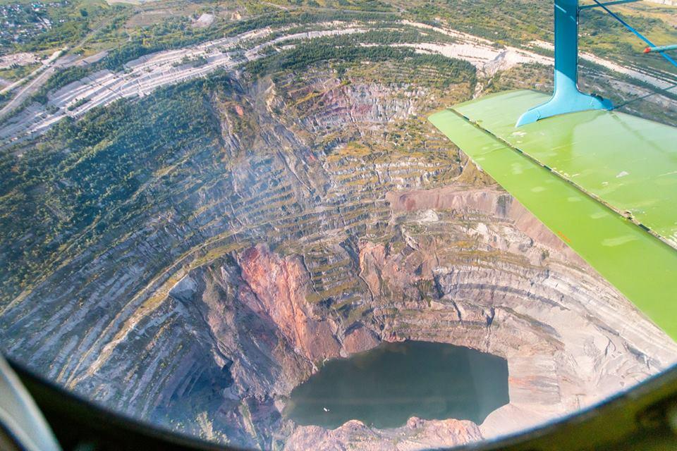 Нижние горизонты угольного разреза «Коркинский» (Челябинская область) всего за девять месяцев пос