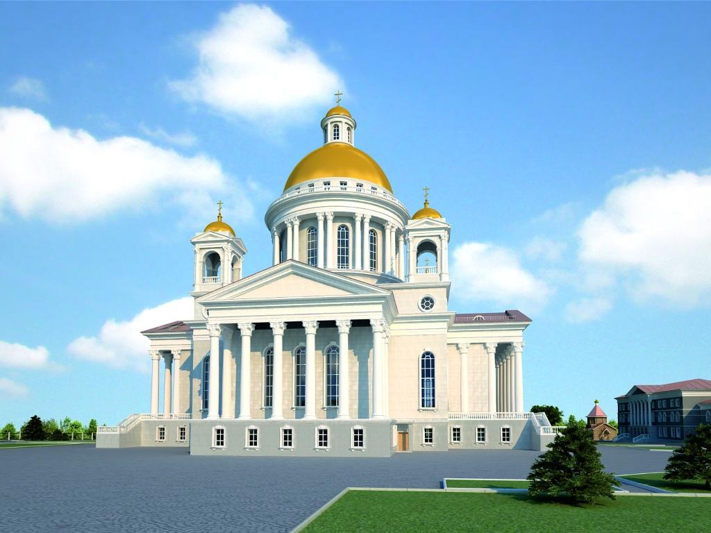 Первую литургию в строящемся Христорождественском кафедральном соборе Челябинска совершит Челябин
