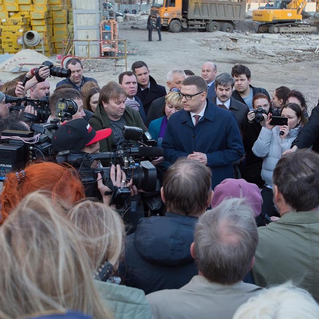 Врио губернатора Челябинской области Алексей Текслер вновь встретился с жителями