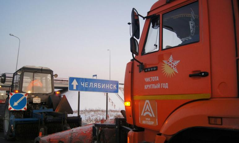 В связи с неблагоприятными погодными условиями в Челябинской области ограничат движение большегру