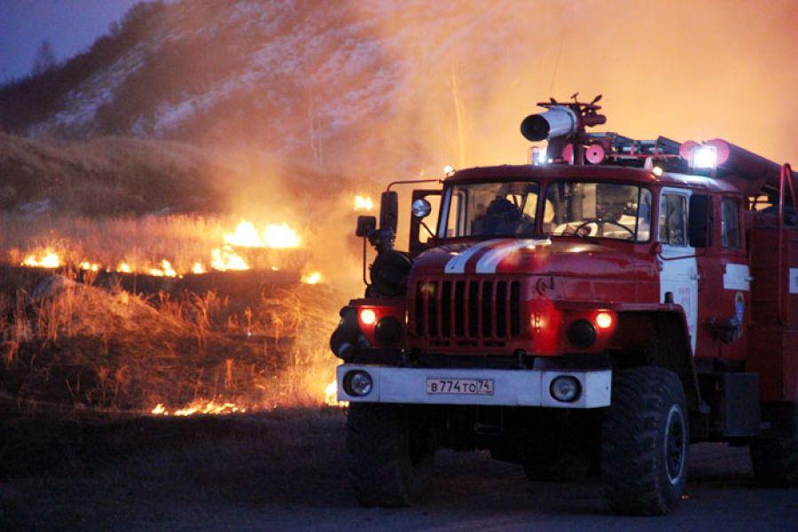 О ситуации с пожарами, складывающейся сегодня, рассказали начальник отдела федерального государст