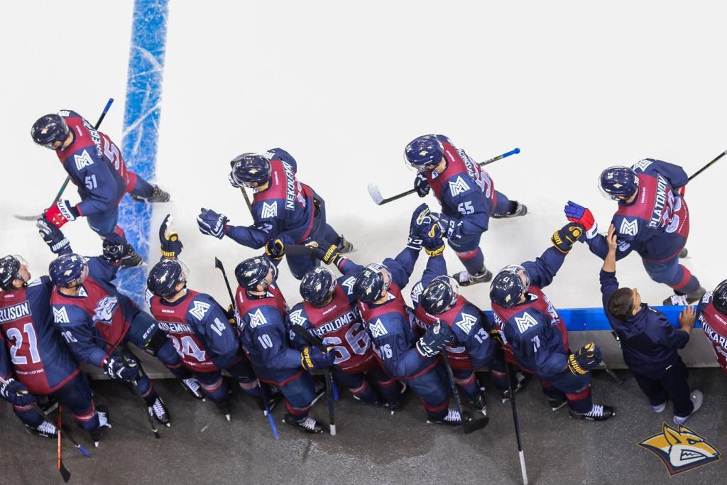 Хоккеисты магнитогорского