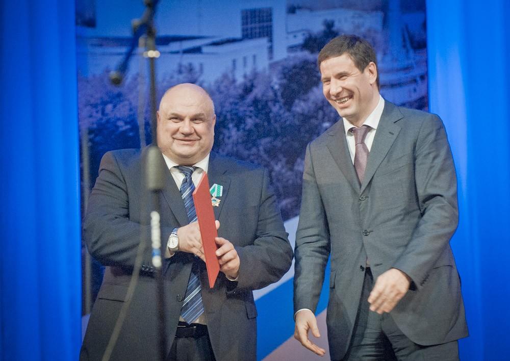 Высокой наградой Сергей Баранов награжден Указом Президента Российской Федерации за большой вклад