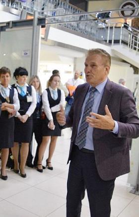 Вчера в челябинском международном аэропорту имени И. Курчатова официально открылась выставка Госу