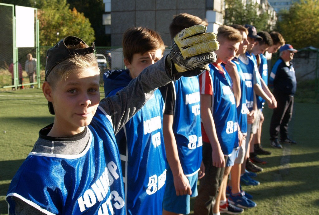 В среду, 12 сентября, В Тракторозаводском районе города открыли спортивную площадку, которая отве