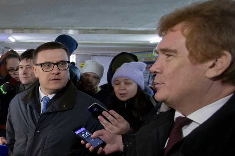 Временно исполняющий обязанности губернатора Челябинской области Алексей Текслер,
