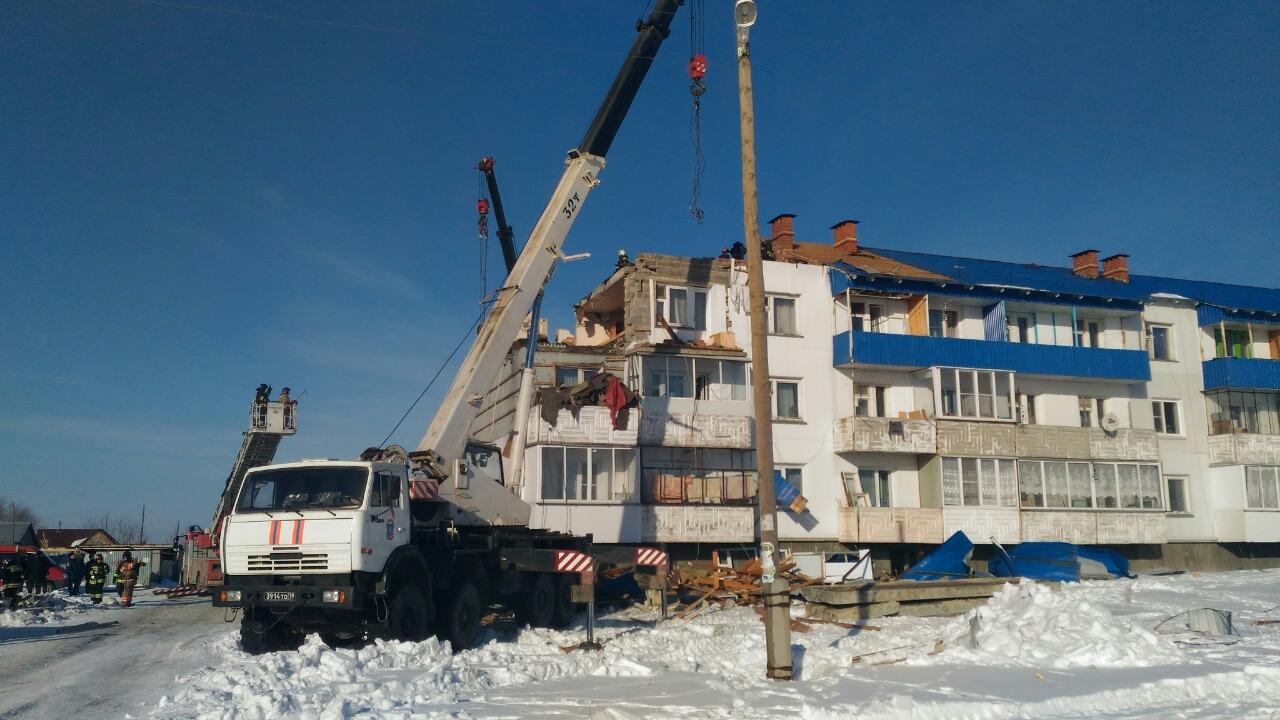 Напомним, 10 марта в результате взрыва бытового газа в трехэтажном доме села Кузнецкое был разруш