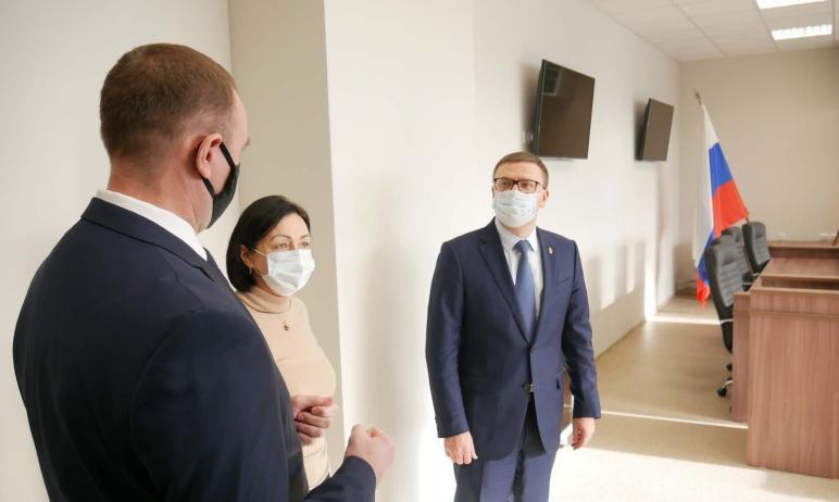 Сегодня, 20 ноября, в Челябинске открылся новый универсальный спортивный комплекс ГУ МВД России п