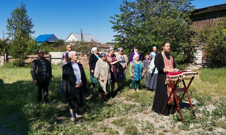 В селе Бродокалмак (Челябинская область) начался новый этап возведения колокольни для сельского х