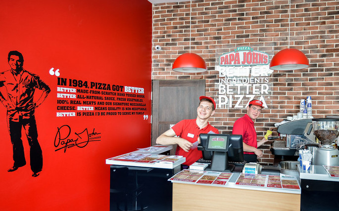«Папа Джонс» — одна из крупнейших сетей пиццерий в мире - ищет партнеров в Челябинске. Всего в ми