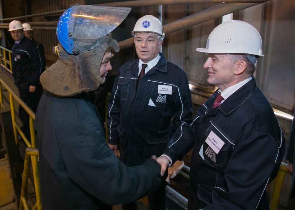 Перспективы индустриального парка губернатор Борис Дубровский обсудил с главой Магнитогорска Серг