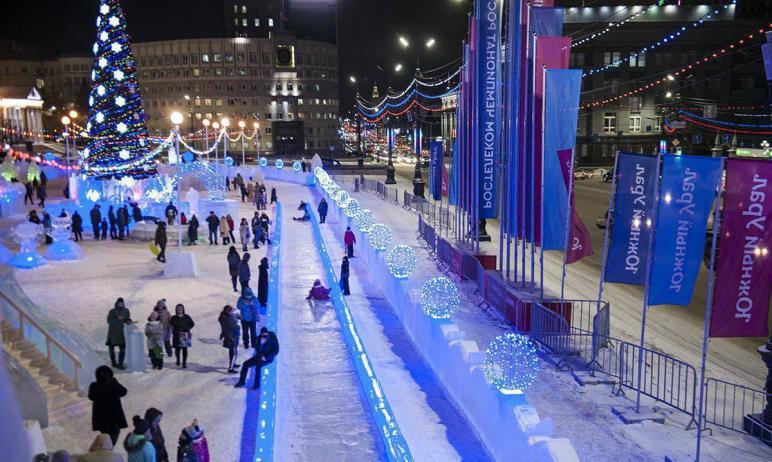В Челябинске стартовало голосование за концепцию зимнего городка на площади Революции, который со