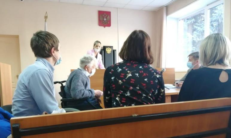 В Челябинске вчера, седьмого декабря, начался суд с участием 81-летнего инвалида без ног