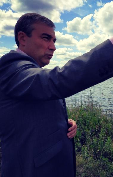 В Челябинске на набережной озера Смолино, благоустраиваемой по федеральной программе