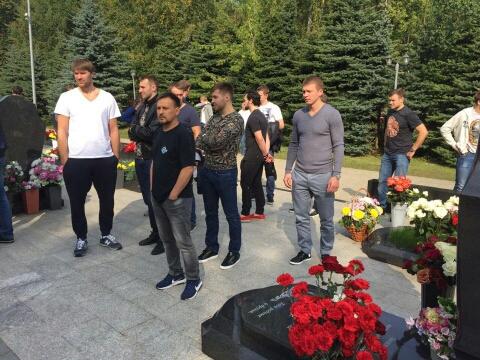 Сегодня, 13 сентября, тренерский штаб, игроки и персонал команды «Металлург» отправились на кладб