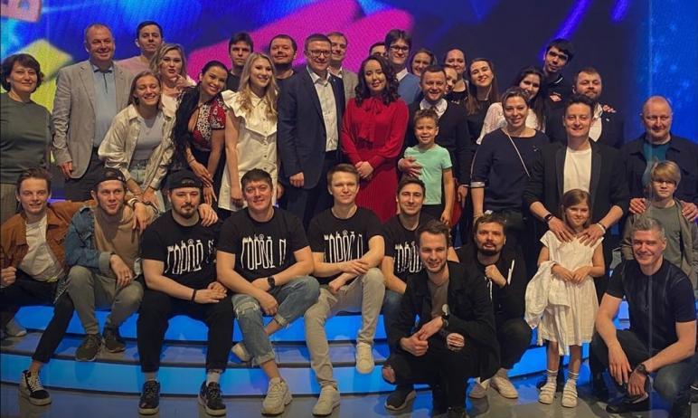 Челябинская команда «Город N» вышла в полуфинал Высшей лиги игры КВН.  Об этом сегодня,