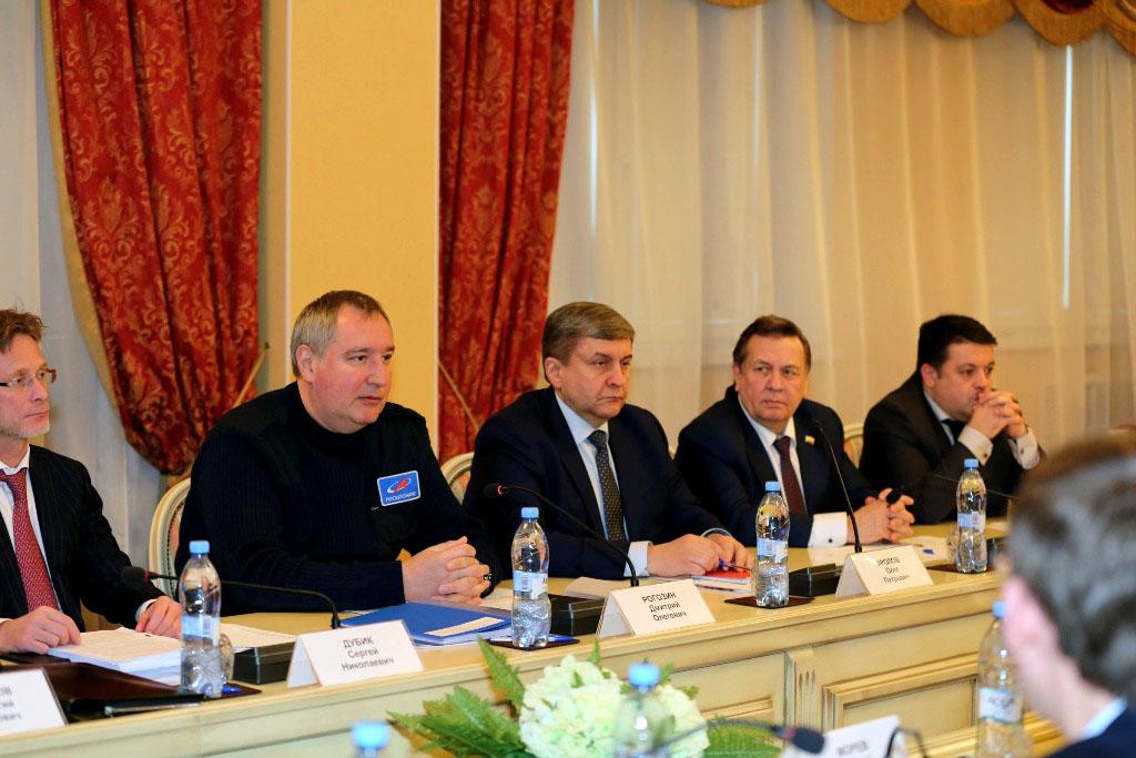 Генеральный директор Госкорпорации «Роскосмос» сразу после завершения встречи с президентом Росси