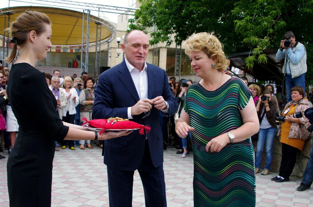 Об этом стало известно вво время визита Елены Ямпольской в Челябинск. Приглашение возглави