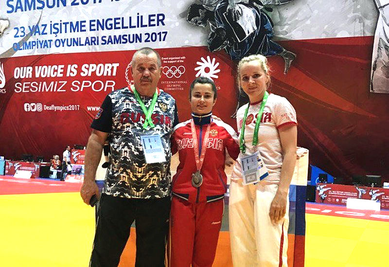 Как сообщает пресс-служба областного спорткомитета, на пути к медали спортсменка из из села Варна