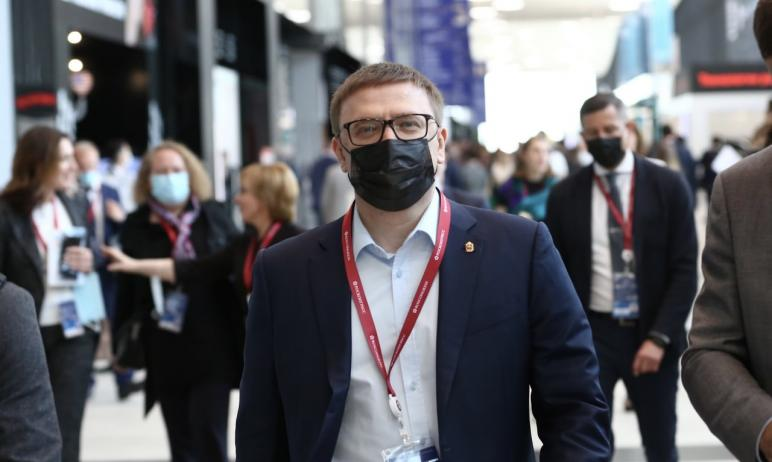 Губернатор Челябинской области Алексей Текслер в рамках Петербургского международного экономическ