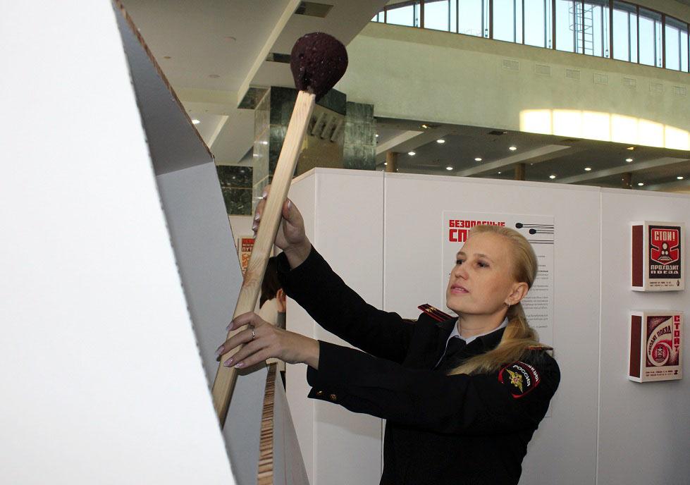 Во вторник, 25 декабря, в здании железнодорожного вокзала Челябинска открылась удивительная выста