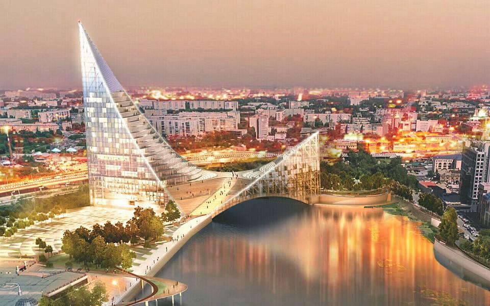 Проект общественно-делового центра, который строится в Челябинске к саммитам ШОС и БРИКС, получил