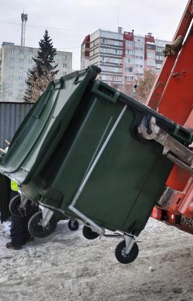 Челябинску в ноябре этого года поставят 240 евроконтейнеров объемом 1,1 кубометра для оснащения д