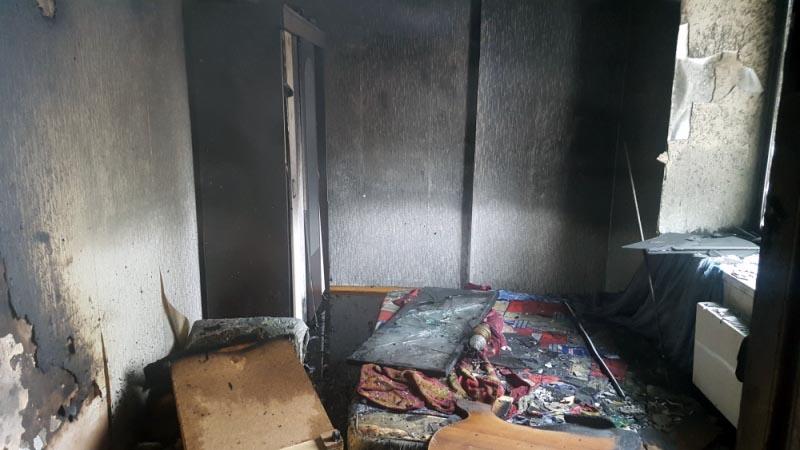 Сообщение о том, что из жилища идет дым, поступило на центральный пункт пожарной связи челябинско