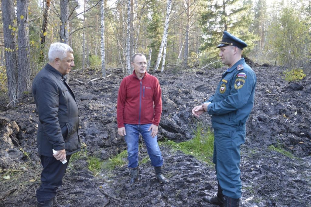 В Челябинскую область приедут ученые РАН, чтобы изучить природу грязевого размыва в Катав-Ивановс