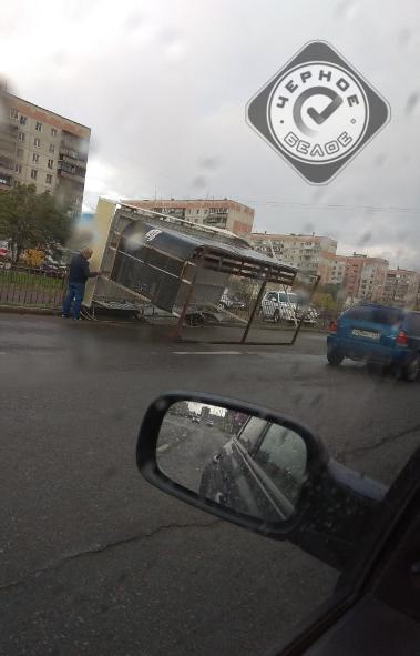 В Магнитогорске (Челябинская область) сегодня, 19-го сентября, стихия разгулялась не на шутку. Ве