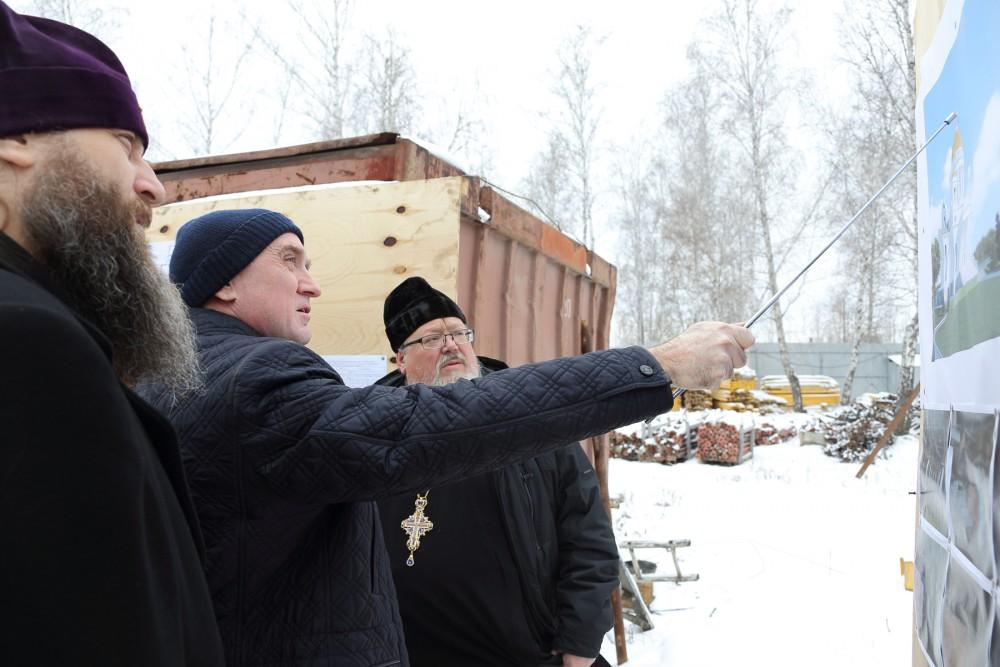 Как сообщил агентству «Урал-пресс-информ» ключарь строящегося кафедрального собора, секретарь Чел