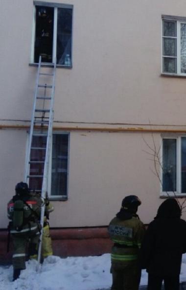 Пожар в центре Челябинска. В числе спасенных, люди с ограниченными возможностями здоровья. В их ч