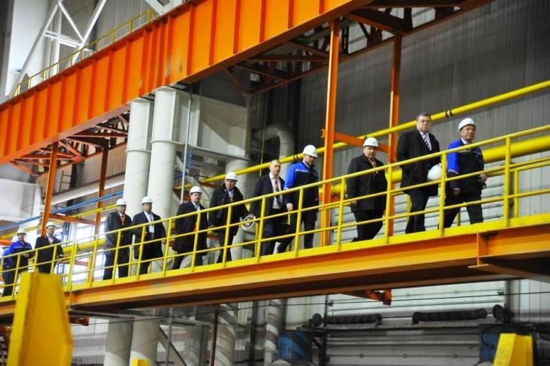 Как сообщает пресс-служба ЧМК, визит на производственную площадку комбината состоялся в рамках се