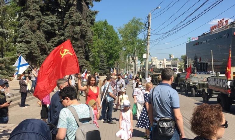 Генеральная репетиция парада Победы в Челябинске состоится на площади Революции шестого мая.