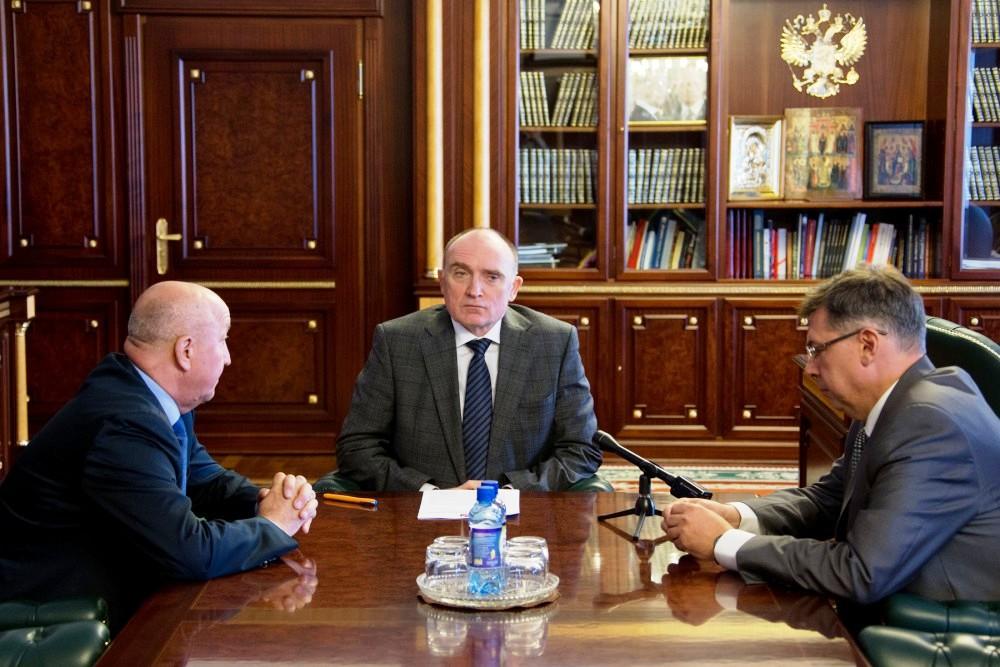 Губернатор Челябинской области Борис Дубровский, поддержавший вуз при выдвижении на получение ста