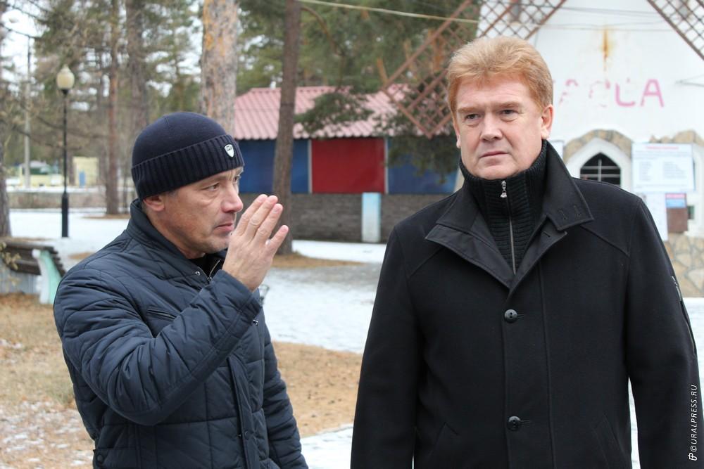 ГубернаторБорис Дубровский, несколько дней назад побывавший в челябинском парке