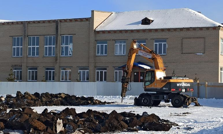 В январе 2021 года в Еткульском районе (Челябинская область) началось строительство физкультурно-