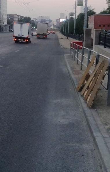 Демонтаж ограждений вдоль проезжих частей в Челябинске проходит после согласования с ГИБДД. К каж