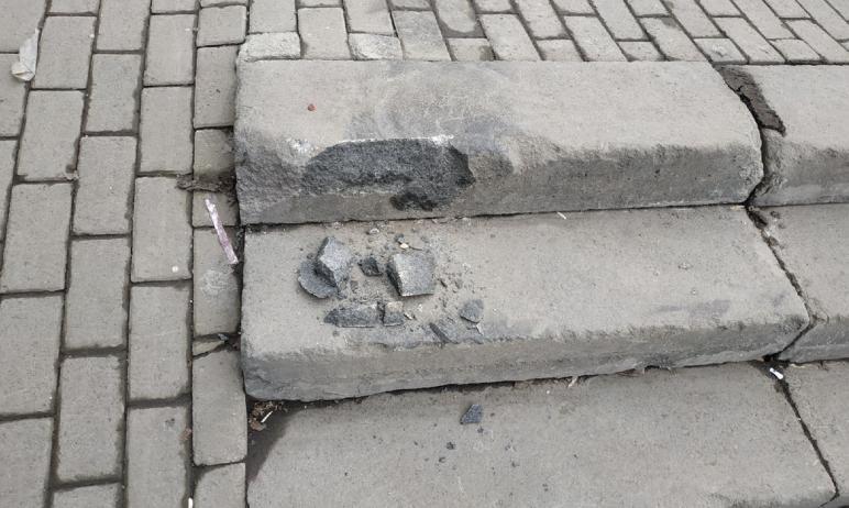 В Челябинске на проспекте Ленина, рядом с педагогическим университетом (на пересечении со Свердло