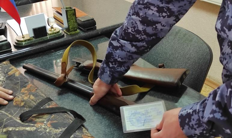 Сотрудники лицензионно-разрешительной работы управления Росгвардии по Челябинской области подвели