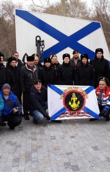 Сегодня, 22 ноября, в Челябинске состоялись проводы призывников ВМФ на Тихоокеанский флот.