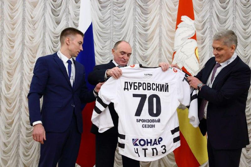 Контракт закончен: Иван Сеничев пожелал ХК «Трактор» удачи и дальнейшего подъема